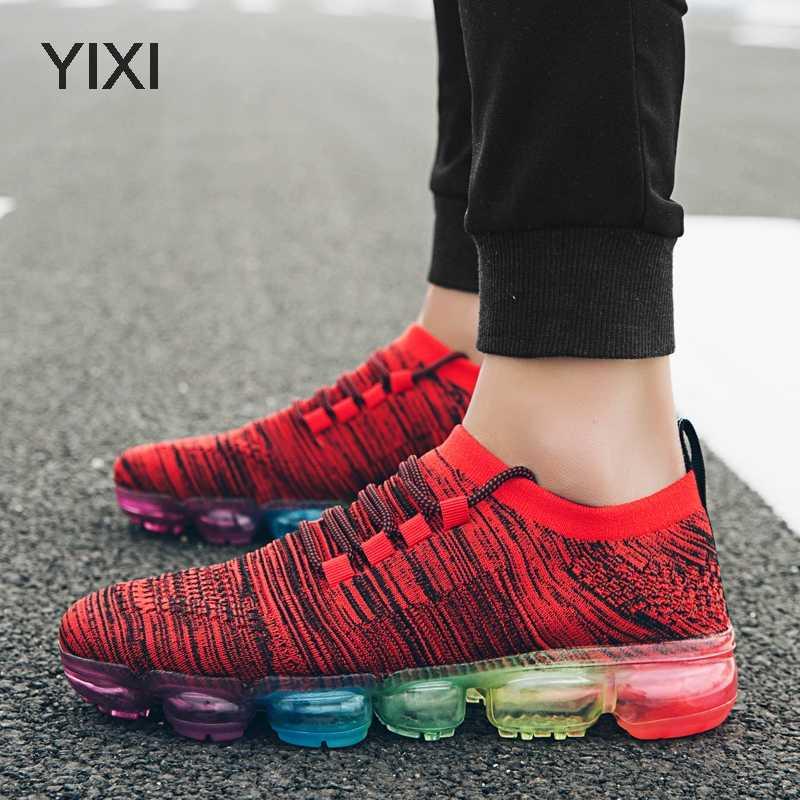 סניקרס גברים נעלי מאמני זכר הנעלה צבעוני שרוכים Vapormax Tenis גברים נעלי Janoski אוויר כרית Zapatos Hombre Krasovki