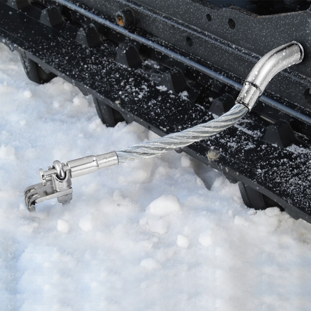 Aço snowmobile gelo scratchers reverso não-reverso para polaris para yamaha para gato ártico para ski-doo acessórios