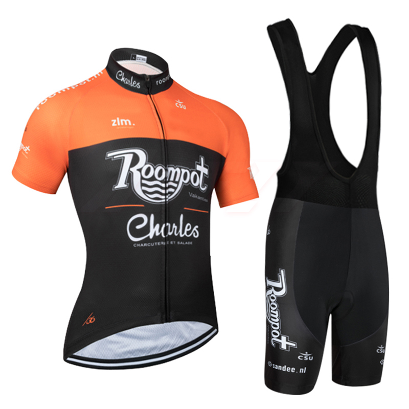 Summer 2020 TEAM Roompo CYCLING JERSEY 9D Cycling Pants Set Ropa Ciclismo Breathable And Quick-drying Ehcnles PRO BICYCLING /36