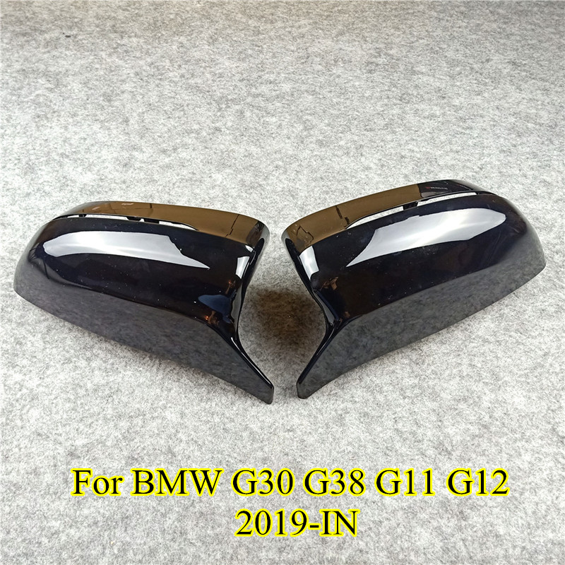 Carbon fiber M Look type Mirror Cover For G11 G12 LHD Rear Side View caps Mirror Cover For 5 7 Series G30 G38 G11 G12 2017+