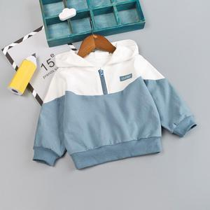 Image 4 - Boys Baby Clothing Girl Hooded Casual Clothes Set Fashion Patchwork Baby Boy T Shirt + Pants 1 2 3 4Y