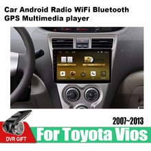 ZaiXi Android Car 2 din multimedia GPS Navigation For Toyota Vios 2007~2013 vedio stereo Radio audio wifi video map video 8 core android 8 1 car stereo dvd for honda civic hatchback 2013 wifi 2 din rds gps navigation bluetooth audio video multimedia