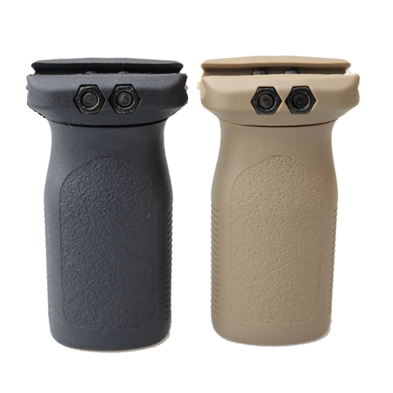 Tactical Paintball Airsoft Rug Style Front Vertical Grip For Airsoft BB Airgun AR15 Rifle Polymer Grip For 20mm Picatinny Rail