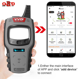 Image 4 - Xhorse VVDI Mini Key Tool Remote Programmer Support IOS/Android Free 96bit 48 Chip Clone with XT27 Super Chips Global Version