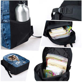 LALIN Super Mario GTA Kids School Bag Grand Theft Auto Print Backpacks For Teenage Boys Girls Game Girls Boys School Book Bags