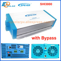 EPever Inverter 3000W Power with Bypass function 48V DC to 220V 230v AC Intelligent Digital Inverter Voltage Converter SHI3000