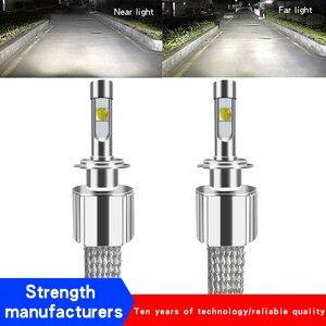 2 шт. H7 светодиодный XHP70 116 Вт 13800LM XHP70 авто светодиодный фонарь H4 H8 H11 9005 HB3 HB4 9012 H13 D2H D2S D2R D4S D1S автомобильный налобный фонарь 12В-24В