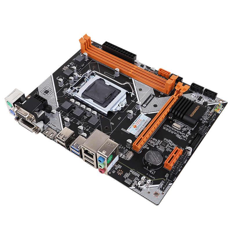 HUANANZHI B75 płyta główna pulpitu LGA1155 dla i3 i5 i7 obsługa CPU ddr3 pamięci