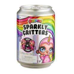 Brinquedo de descompressão espremendo unicórnio jar sparkle splitter poopsie slime unicorne alívio suave stress crianças presentes de aniversário
