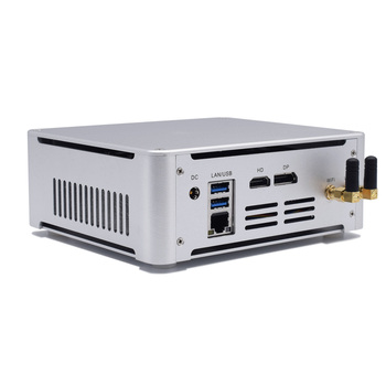 Desktop Mini Computer Quad Core Intel I5 7300HQ I7 7820HK Type-C DP HDMI 4k Thin Client Micro Computer