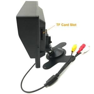 Image 4 - Full HD 1024*600 7 นิ้วกล้องวงจรปิดความปลอดภัยภายในบ้าน 1080P AHD 2 แยกหน้าจอ IPS Monitor DVR การเฝ้าระวังรถ IPS จอแสดงผล Recorder