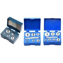 100g 200g 500g M2 cromado juego de calibración de peso de precisión, balanzas de gramos peso escala Digital Balance