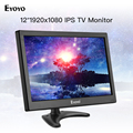 "Eyoyo 12 ""EM12F Computer TV Monitor FHD 1920x1080 IPS LCD Screen Display moniteur HDMI VGA AV USB für Projektor PC DVR DVD-in CCTV Monitor & Displays aus Sicherheit und Schutz bei"