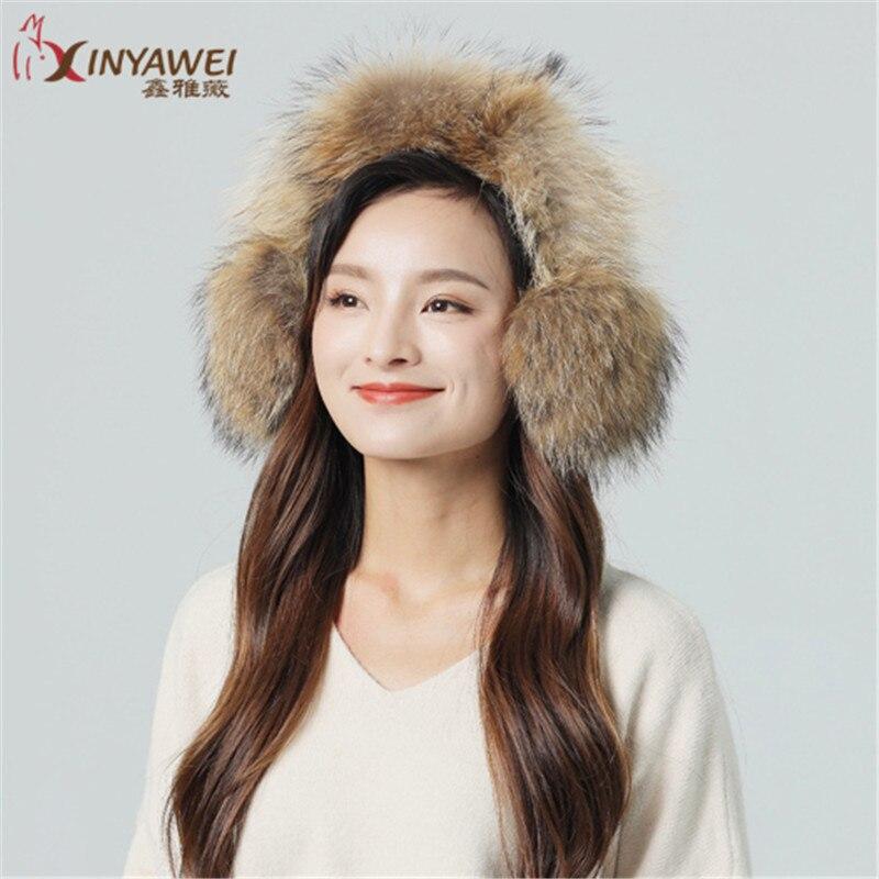 Ladies Fashion Fox Earmuffs Winter Warm Earmuffs Ladies Warm Earmuffs Solid Color Cute Soft Plush Earmuffs.