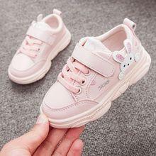 Sport Sneakers Shoes Walking-Shoe Casual Children Print Soft Baby-Girls Rabbit Cartoon