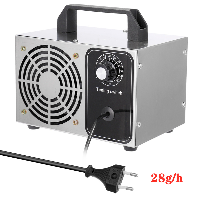 Household 220V 28g/h Ozone Generator Air Purifier Ozonizador Machine O3 Ozono Generator Deodorant Disinfection Equipment