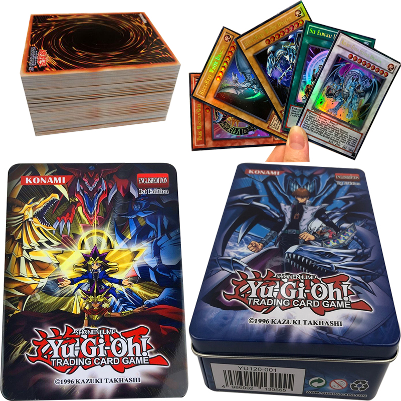 60pcs Holographic  Yu-Gi-Oh! Dark Magician Exodia Obelisk Slifer Ra Yugioh DM Classic Orica Proxy Card Childhood Memory