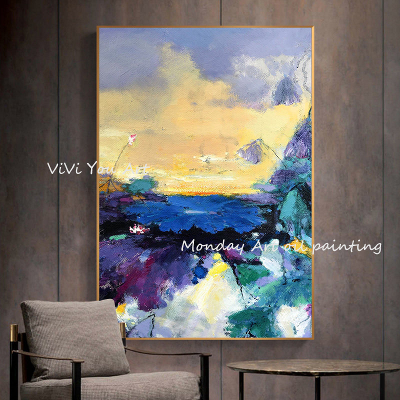 100-Hand-Painted-Abstract-Colourful-Scenerys-Art-Painting-On-Canvas-Wall-Art-Wall-Adornment-Pictures-For (1)