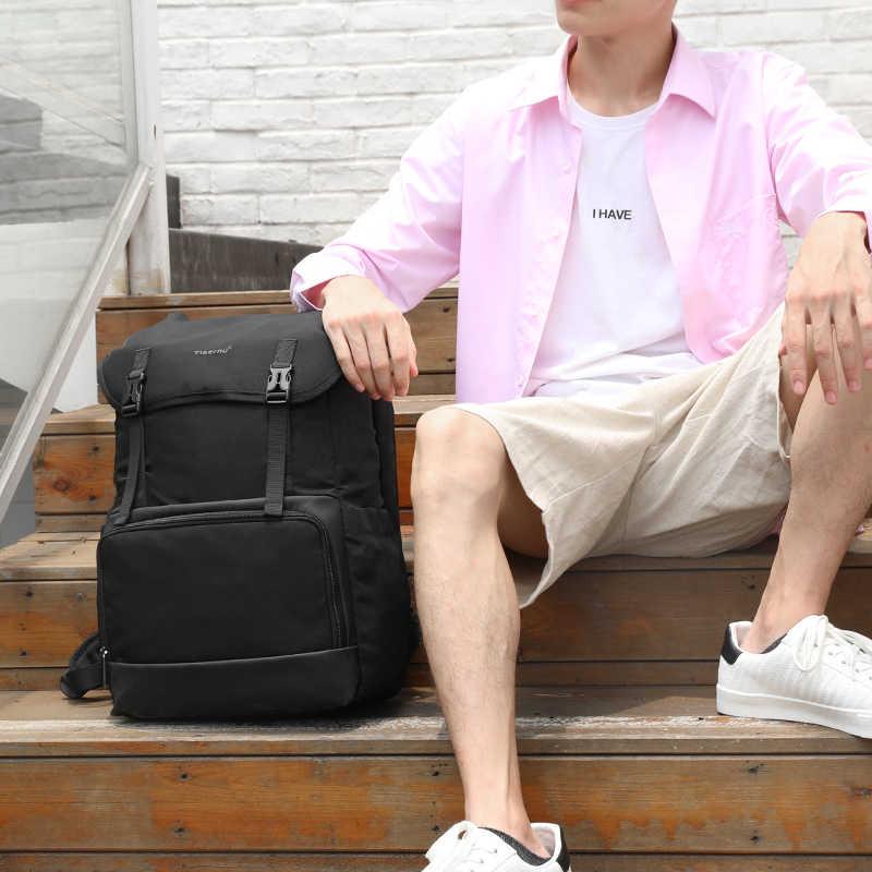 Tigernu nova moda portátil mochila desenhar bolso de carregamento usb viagem escola esporte mochila à prova dwaterproof água masculino feminino saco pacote