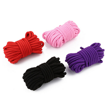 5M Thicken Cotton Sex Bondage Restraint Rope Slave Adult Games Roleplay Toys For Couples Products Shibari Hogtie Fetish Harnes