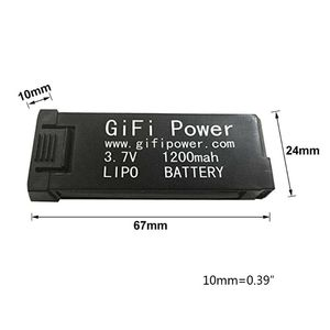 Image 5 - Power Lipo Battery 3.7V 1200mAh Replacement Electronic For JY019 S168 E58 M68