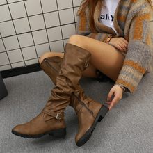 Women Boots Spring Autumn Boots Buckle S