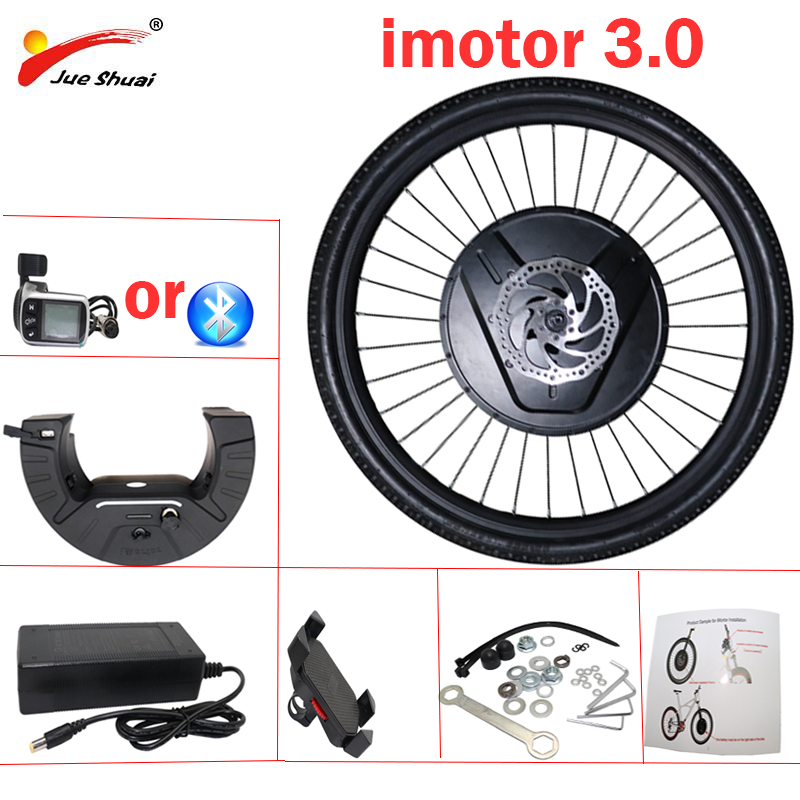 "IMortor 3 Wheel Electric Bicycle Conversion Kit 36V 350W Motor 24 ""26"" 27.5 ""700C 29 "" Bike Conversion Kit with 7.2Ah Battery"
