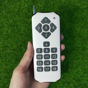 Image 4 - Dc 12 v 18ch relé interruptor remoto 18 receptor de relé 18 botão transmissor remoto contato rx tx pedir luz lâmpada casa inteligente sem fio