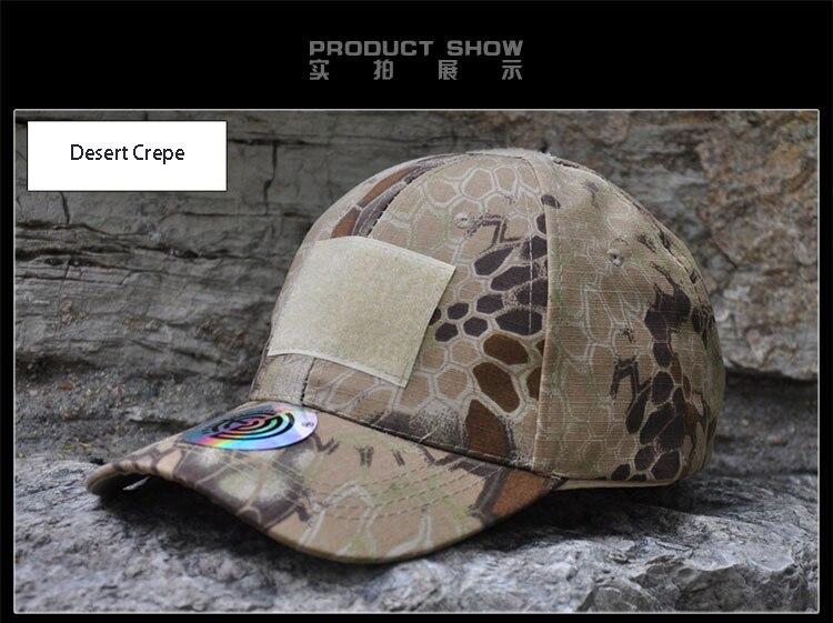 Simplicidade Camuflagem Chapéu Militar Do Exército do