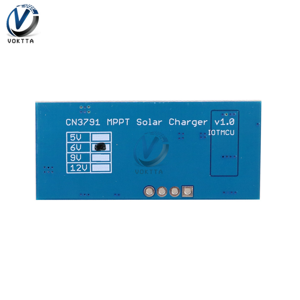 1 zelle Lithium-Batterie Ladung 3,7 V 4,2 V CN3791 MPPT Solar Panel Regulator Controller Solar Panel Ladegerät Board-Controller modul