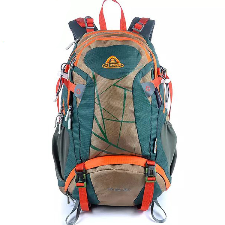 Aione Outdoor Hiking Backpack 30L Riding Backpack Nylon Anti-Spillage Ultra-Light Bear Backpack