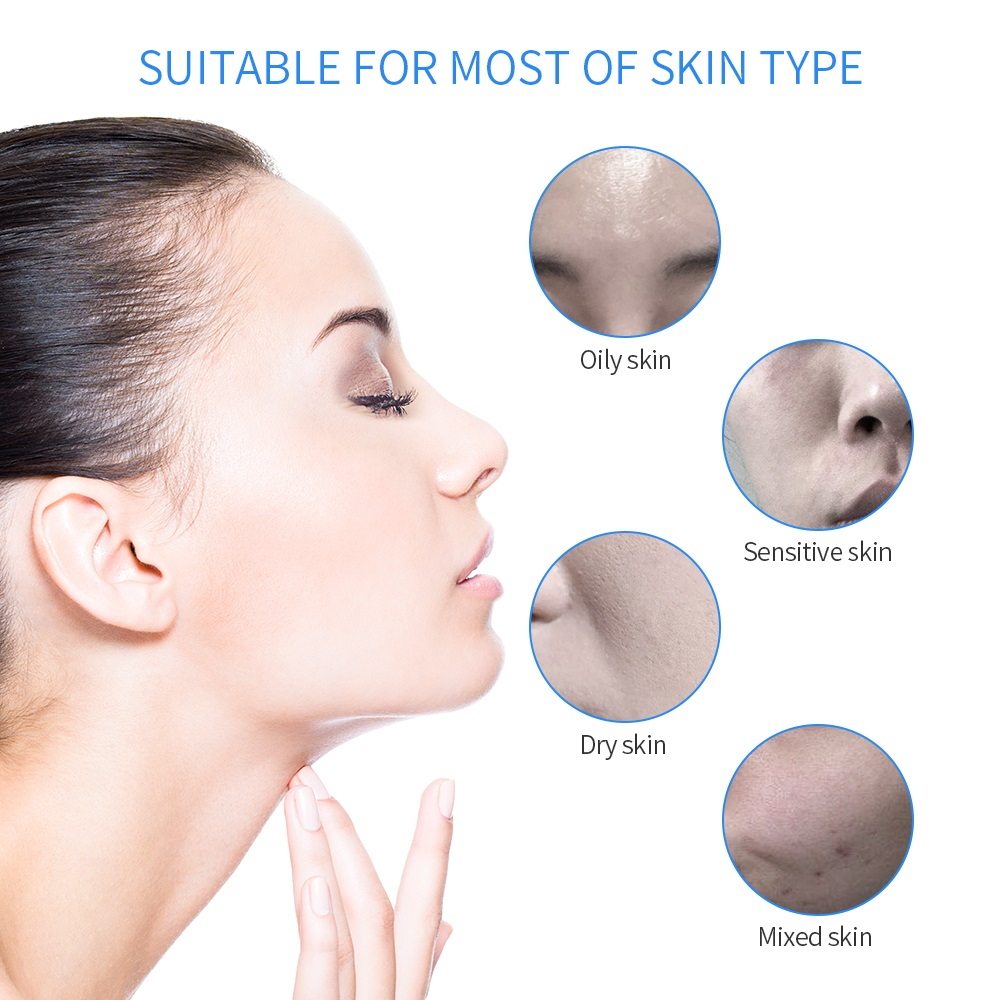6 en 1 Hydra Dermabrasion peler propre soins de la peau BIO lumière RF vide visage nettoyage eau oxygène Jet Hydro peler Machine - 4
