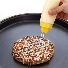 Condiment-Dispenser Vinegar-Oil Salad Plastic for Sauce Ketchup Kitchen-Gadgets 4-Holes