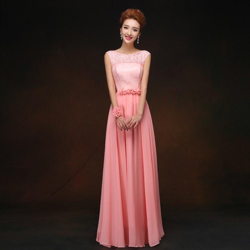 Pink Burgundy Bridesmaid Dress Sister Plus Size Elegant Long Dress For Wedding Party Sexy Dress Prom Club Vestido De Festa Longo