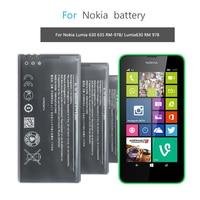 Handy Batterie BL-5H Für Nokia Lumia 630 Lumia630 RM-977 RM-978 Moneypenny RM 977 978 Ersatz Batterie 1830mAh BL 5H