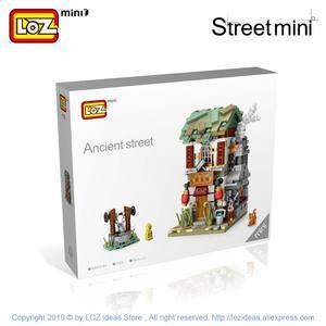 Image 5 - Мини конструктор LOZ, китайская уличная китайская традиция, специальная модель «сделай сам», сборные игрушки для детей, Образовательное аниме