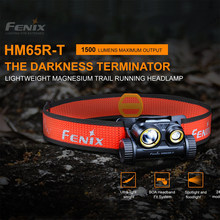 Fenix HM65R-T tri-prova magnésio farol 1500 lúmens para atividades ao ar livre de longo prazo & de alta intensidade