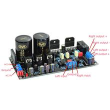 LM3886 68W+68W HIFI Power Amplifier Board OP07 DC Servo NE5534 independent Op Amp YJ lm3886 68w 68w stereo amplifier board 3pcs total