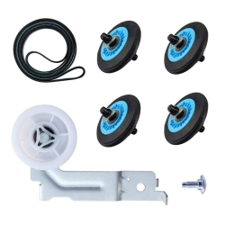 ABRA-DC97-16782A Dry Washing Machine Wheel Set Dryer Repair Kit for Samsung Dryer Belt Dryer Kit