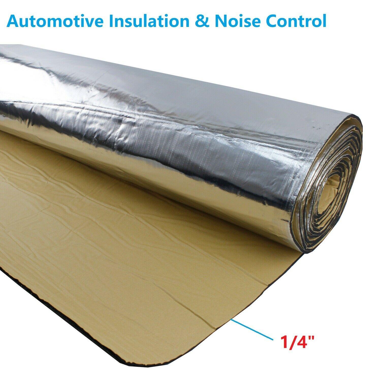Звукопоглощающий теплозащитный изоляционный автомобильный шумоподавляющий клейкий коврик 60