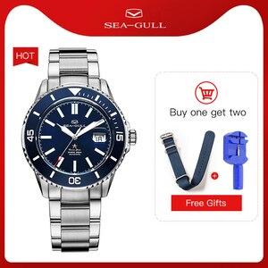 Image 1 - Seagull Mannen Automatische Mechanische Horloge Fashion Business Rolex Ocean Star Horloge Saffier Kristal 200M Waterdicht Horloge 816.523