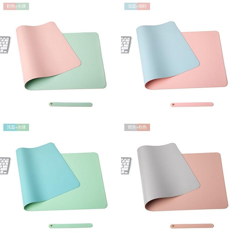 Двухсторонняя Портативный Офис игровой коврик для мыши с изображением защитный обеденный стол коврик для письма легко чистить из искусств...