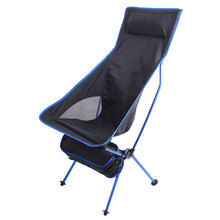 Chair Folding for Fishing Festival Picnic Oxford-Cloth Ultralight Lengthen Outdoor Portable