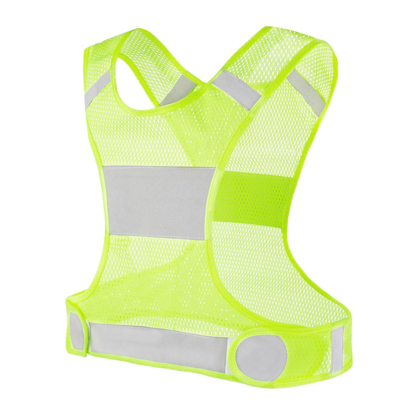 Outdoor Running Reflective Vest Cycling Vest Ciclismo Lightweight Safety Fishing Vest Sports Gear for Women Men Jogging Walking|Cycling Vest| |  - title=