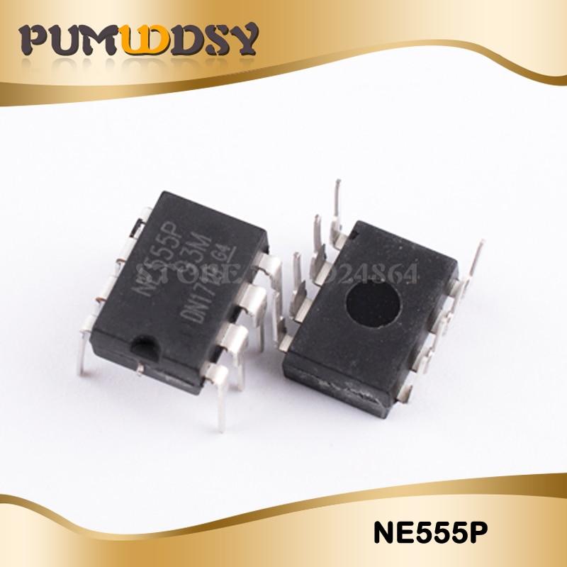 10 x New NE555 NE555P NE555N 555 Timers DIP-8 TEXAS