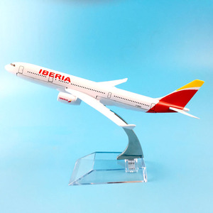 Image 1 - AIR PASSENGER  A330 IBERIA  AIR AIRWAYS   AIRPLANE  METAL ALLOY MODEL PLANE AIRCRAFT MODEL  TOY  BIRTHDAY GIFT  COLLECTON