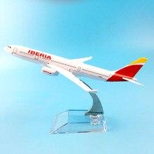 항공 여객 a330 iberia 항공 항공기 비행기 금속 합금 모델 비행기 항공기 모델 장난감 생일 선물 collecton
