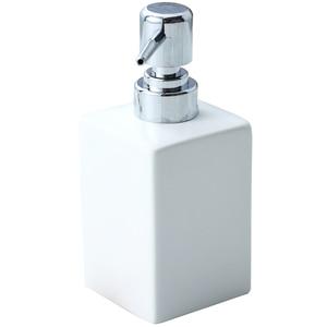 Image 4 - 320ml Ceramic Emulsion Dispenser White Black Bottle Hotel Shower Gel Hand Sanitizer Bottle with Bamboo Tray for Kitchen