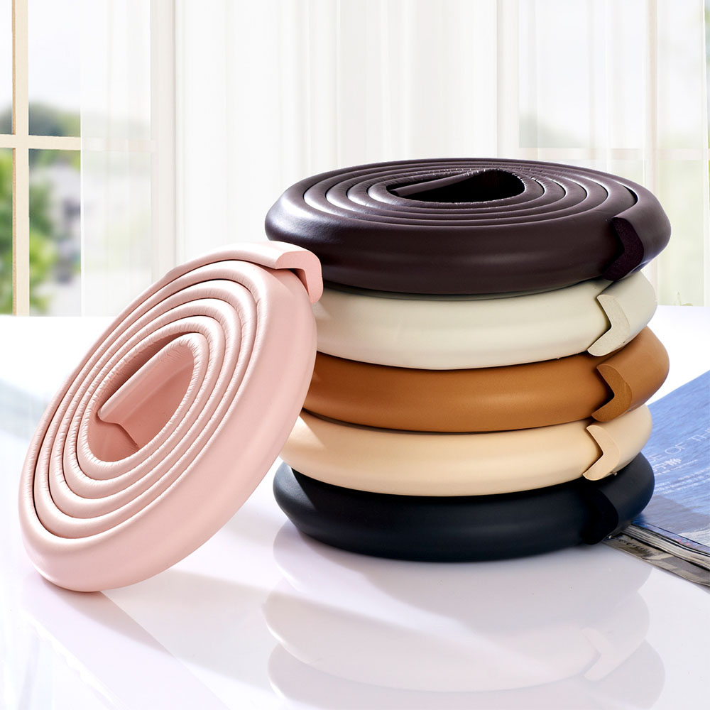 2M Baby Safety Corner Protector Table Desk Edge Guard Strip With Tape Furniture Corners Collision Cushion Strip