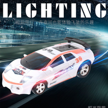 1set mini canned remote control car children toys remote control car speed racing electric four-way model